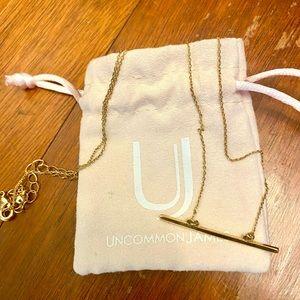 Uncommon James Raise The Bar Gold Necklace